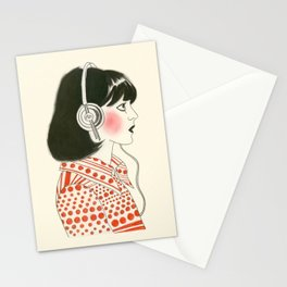 The New York Listener  Stationery Cards