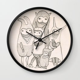 this is family Wall Clock