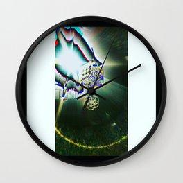 Lavendar Vape Wall Clock
