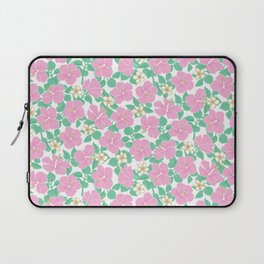 Hibiscus and Plumeria Laptop Sleeve