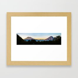 Lake Atitlan Sunrise, Guatemala Framed Art Print