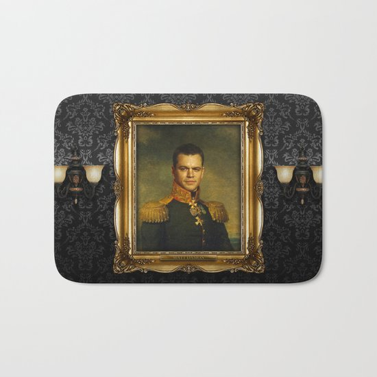 Matt Damon - replaceface Bath Mat