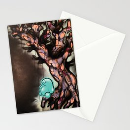 The Year 2020 When Trees Give Birth to People There Will be Balance and the Night Shall Sleep Again Stationery Cards