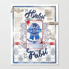 It Habst To Be Pabst Canvas Print