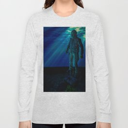 Only way to kill Jason is to send him back to his original resting place where he drowned in 1957... Long Sleeve T-shirt