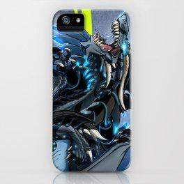 Shark Dragon iPhone Case