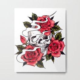 Ashes Metal Print