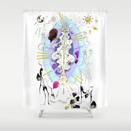 Hecates Reborn Shower Curtain