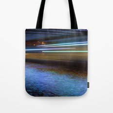 Into the Berlin Blue Night Tote Bag