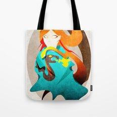 Madame Serpent Tote Bag