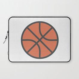 Basketball Icon Laptop Sleeve