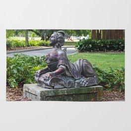 Ringling Rose Garden Statuary III Rug