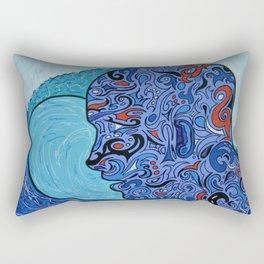 Pensée océanique2 Rectangular Pillow