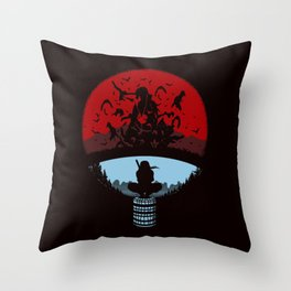 Itachi Uchiha Throw Pillow