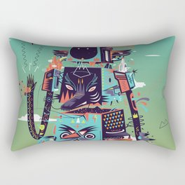 Totem Rectangular Pillow