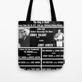 #4-B Memphis Wrestling Window Card Tote Bag