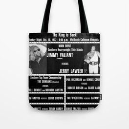 #4-B Memphis Wrestling Window Card Tote Bag