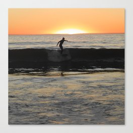 Manhattan Surfer Canvas Print