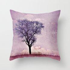 My purple dream Throw Pillow