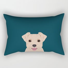 Blair - Norfolk Terrier gifts for dog lovers and pet owner gift ideas. Dog people gifts Rectangular Pillow