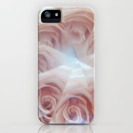crystal rose iPhone Case