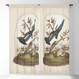One for Sorrow Blackout Curtain