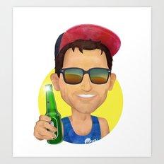 Matt Art Print