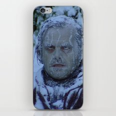 Cold as ice iPhone Skin