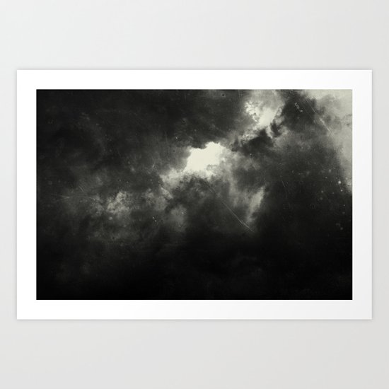 Hole In The Sky I Art Print