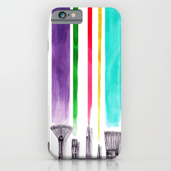Paint brushes iPhone & iPod Case
