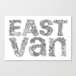 East Van Canvas Print