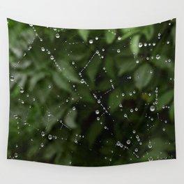 Web dew Wall Tapestry