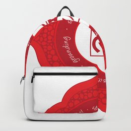 Root Chakra #54 Backpack