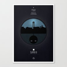 Super 8 Print Canvas Print