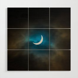 Solar Eclipse III Wood Wall Art