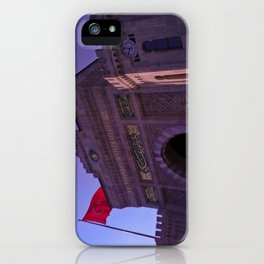 In this building educated. iPhone Case