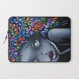 girl letters grafitti Laptop Sleeve