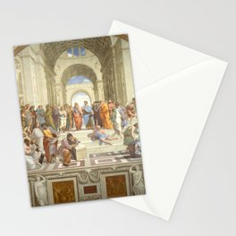 Raphael - The School of Athens Stationery Cards