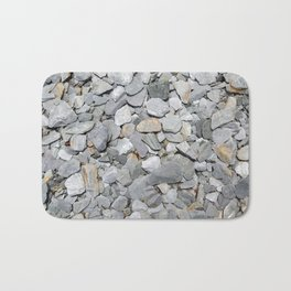 Slate Chipping Overhead Bath Mat