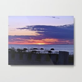 The Beauty of Sunset Metal Print