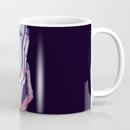 Thinker Surreal Melting Portrait Of a Man Damned Poet Coffee Mug