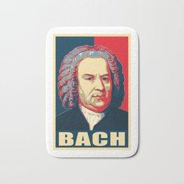 Johann Sebastian Bach Pop Art Bath Mat