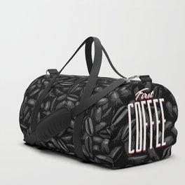 First COFFEE Duffle Bag