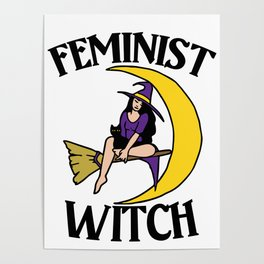 Feminist Witch Poster
