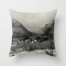 Telluride Mist Throw Pillow