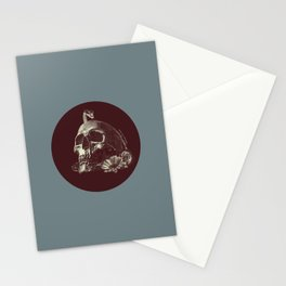 Death... you motherfucker Stationery Cards