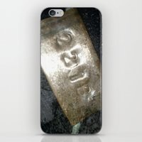 221b iPhone & iPod Skins featuring 221B  by Foundtique