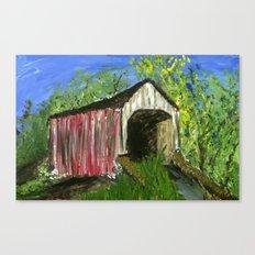 Erwinna Covered Bridge  Canvas Print
