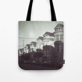 San Francisco Streets Tote Bag