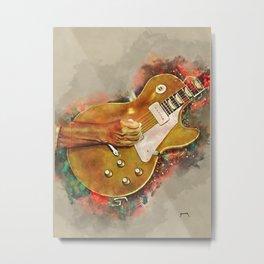 Fogerty's electric guitar Metal Print